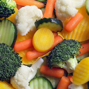 3. Mieszanki warzyw